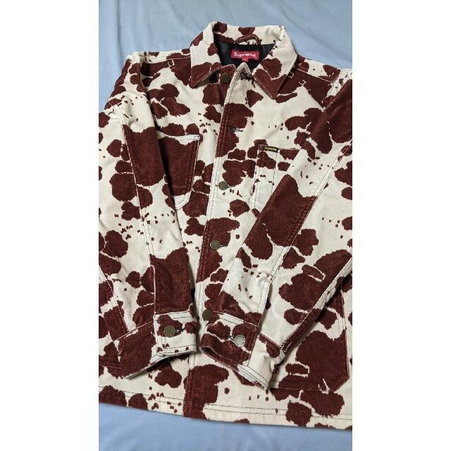 Supreme(シュプリーム)のsupreme Velvet Chore Coat 20ss シュプリーム メンズのジャケット/アウター(Gジャン/デニムジャケット)の商品写真