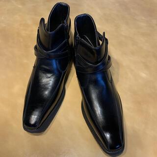 ギラロッシュ(Guy Laroche)の【新品】定価4万 GuyLaroche ギラロッシュ ヒールブーツ 26.0cm(ブーツ)