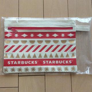 スターバックスコーヒー(Starbucks Coffee)のスタバ 2020 クリスマス ポーチ(ノベルティグッズ)