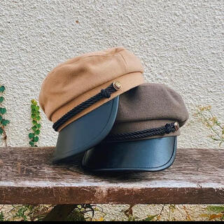 アリシアスタン(ALEXIA STAM)のACLENT キャスケット帽子(キャスケット)