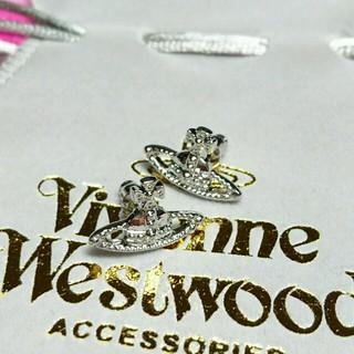 ヴィヴィアンウエストウッド(Vivienne Westwood)の在庫処分!ミニバスシルバーピアス(ピアス)