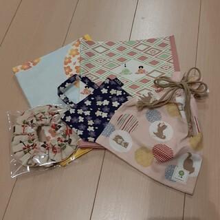濱文様 ハンカチタオルセット シュシュ入り 総額4500円福袋②(ハンカチ)