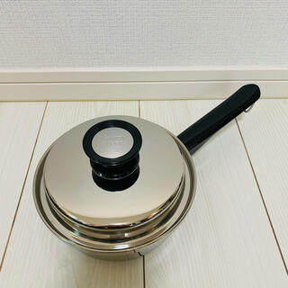 アムウェイ(Amway)の◇◆新品未使用◆◇ アムウェイクイーン『小ソースパン』鍋 匿名配送(鍋/フライパン)