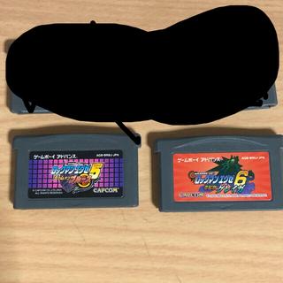 ゲームボーイアドバンス(ゲームボーイアドバンス)のバトルネットワークロックマンエグゼ ソフトセット(携帯用ゲームソフト)