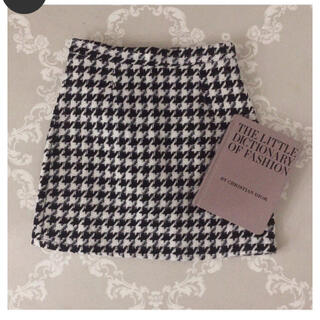 snidel - (即納) houndstooth mini skirt❤︎