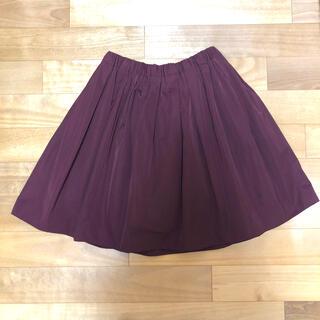 アクアガール(aquagirl)の美品★Aquagirl CROLLNE 2wayスカート(ひざ丈スカート)