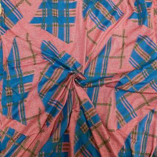 ヴィヴィアンウエストウッド(Vivienne Westwood)のアパレル残反 ニット生地 ウール×コットン×レーヨン 薄手 161×260(生地/糸)