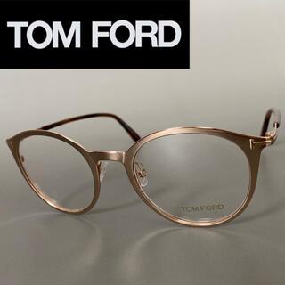 TOM FORD - トムフォード ピンク ゴールド メタル メガネ レディース ボストン メンズ