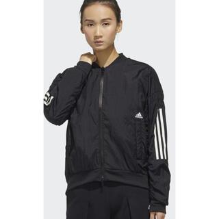 アディダス(adidas)のアディダス M レディース アウター ウーブン ジャケット 新品 8239円(ナイロンジャケット)
