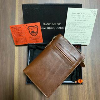 トチギレザー(栃木レザー)の栃木レザー 財布 ブラウン(折り財布)