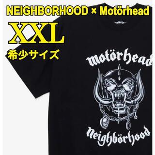 ネイバーフッド(NEIGHBORHOOD)のネイバーフッド×モーターヘッド NHMH-1 / C-TEE【XXL】(Tシャツ/カットソー(半袖/袖なし))