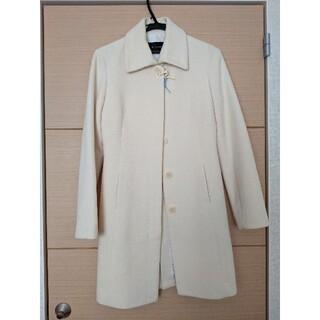 ルスーク(Le souk)のルスーク ステンカラー ホワイトコート(ロングコート)