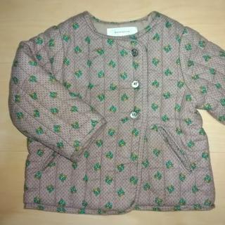 プチバトー(PETIT BATEAU)の韓国ベビー服 キルティングコート(ジャケット/コート)