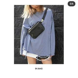 アナップ(ANAP)のInstagram話題クラッシュロングT新作オーバーサイズ感(Tシャツ(長袖/七分))