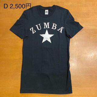 Zumba - ZUMBA ズンバウェア Tシャツ 未使用に近い