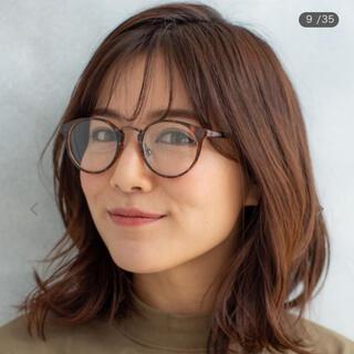 送料込み 匿名配送 新品 未使用 伊達メガネ 伊達眼鏡 ファッションメガネ(サングラス/メガネ)