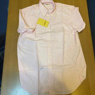 McGREGOR - マクレガー ピンク 半袖ボタンダウンシャツ