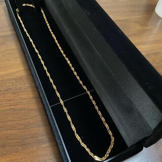 ジュエリーマキ(ジュエリーマキ)のユリ様 専用 k18 スクリュー チェーン ネックレス(ネックレス)