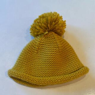 ザラ(ZARA)のネクスト NEXT ニット帽 ビーニー ザラ イエロー マスタード(帽子)