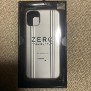 ゼロハリバートン(ZERO HALLIBURTON)のiPhone11 ZERO  カバー(iPhoneケース)