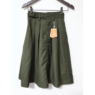 フィント(F i.n.t)の新品❤️Fint フレアスカート(ひざ丈スカート)