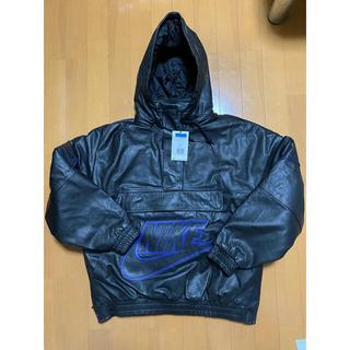 シュプリーム(Supreme)のSupreme Nike Leather Anorak M 新品(レザージャケット)