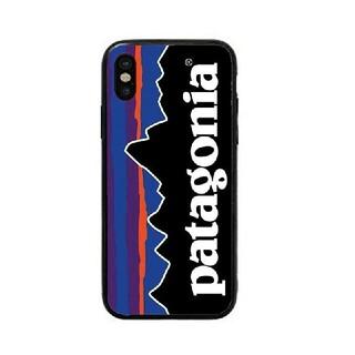 パタゴニア(patagonia)のパタゴニア ガラスケース iPhoneケース u3lv3k(iPhoneケース)