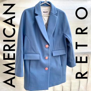 アメリカンレトロ(AMERICAN RETRO)のAmerican Retro ウールコート(チェスターコート)