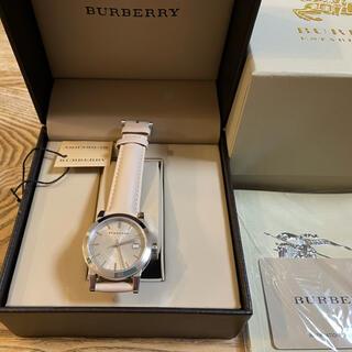 BURBERRY - BURBERRY バーバリー 腕時計 レザー 男女兼用