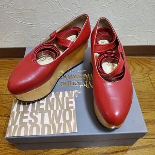 ヴィヴィアンウエストウッド(Vivienne Westwood)のvivieen westwood ヴィヴィアン ロッキンホースバレリーナ 赤(ブーツ)