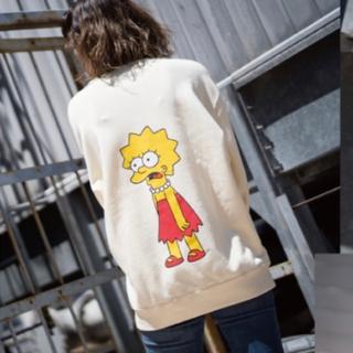 シンプソン(SIMPSON)の【新品・未開封】JUNRed シンプソンズ Simpsons スウェット 白(パーカー)