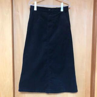 スタディオクリップ(STUDIO CLIP)のStudio CLIP  黒ロングスカート(ロングスカート)