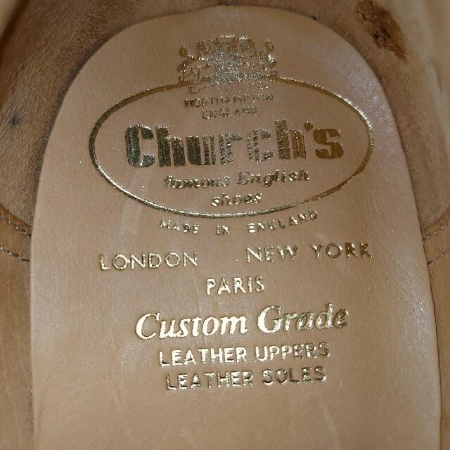 Church's(チャーチ)のChurch's PICCADILLY 70F Last73 3都市 未使用 メンズの靴/シューズ(ドレス/ビジネス)の商品写真