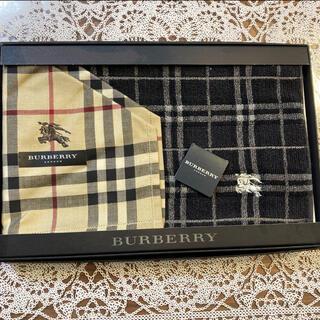 BURBERRY - メンズ バーバリー ハンカチセット