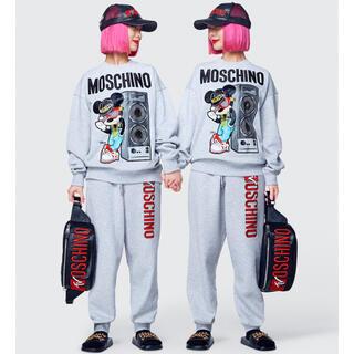 モスキーノ(MOSCHINO)のH&M MOSCHINO エイチアンドエム×モスキーノ トレーナー(トレーナー/スウェット)