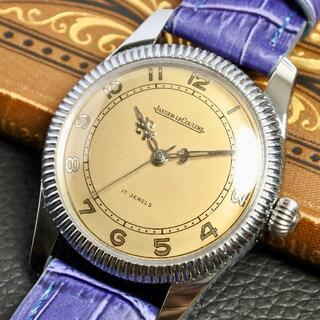 ジャガールクルト(Jaeger-LeCoultre)の★ラクジュアリー★OH済★ジャガールクルト 1950's アンティーク #173(腕時計(アナログ))