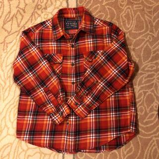ユニクロ(UNIQLO)のユニクロ UNIQLO ネルシャツ チェックシャツ130センチ(ブラウス)