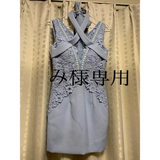 an - 【低身長さん向け!】an  キャバ ドレス