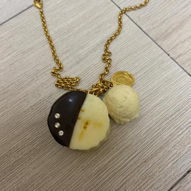 Q-pot.(キューポット)のQ-pot チョコバナナ ネックレス レディースのアクセサリー(ネックレス)の商品写真