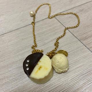 Q-pot. - Q-pot チョコバナナ ネックレス