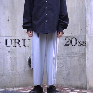 SUNSEA - URU 20ss 2tuck pants