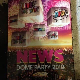 NEWS DOME PARTY 2010 LIVE!LIVE!LIVE!DVD!(ミュージック)