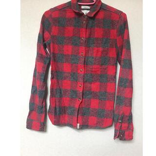 アメリカンイーグル(American Eagle)のチェックシャツ(シャツ/ブラウス(長袖/七分))