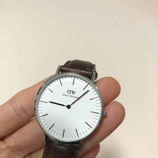 ダニエルウェリントン(Daniel Wellington)のダニエルウィリントン 時計 本日まで。引越しのため売り切り!(腕時計)