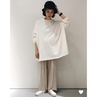 ニコアンド(niko and...)の【新品タグ付き】オープンエンドスーパーBIG-Tシャツ(カットソー(長袖/七分))