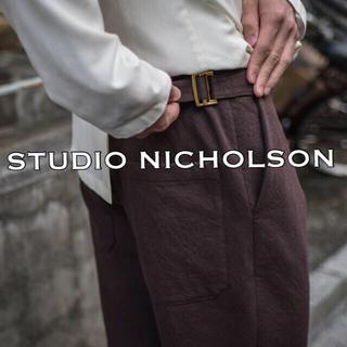 1LDK SELECT - STUDIO NICHOLSON  / ワイドスラックス 定価5.3万