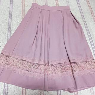 ロジータ(ROJITA)のROJITA レーススカート(ひざ丈スカート)