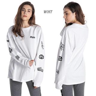 ロキシー(Roxy)のROXY ロンT 長袖 Tシャツ ホワイト(Tシャツ(長袖/七分))