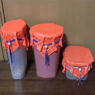 保存容器カバーM。オレンジ  (その他)