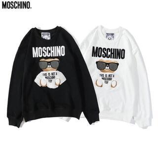 モスキーノ(MOSCHINO)の2枚14000円MOSCHINOモスキーノ長袖トレーナー スウェット903(トレーナー/スウェット)